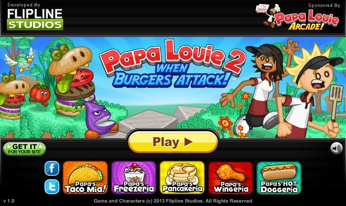 Papa Louie Spiele Kostenlos