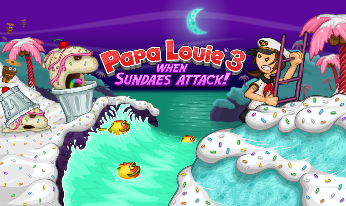 Image Papa Louie 3: When Sundaes Attack!