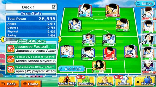 Image CAPTAIN TSUBASA: Dream Team (PC)