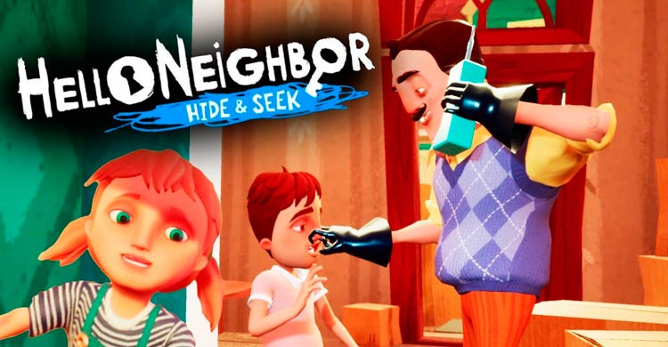 Bild HELLO NEIGHBOR HIDE AND SEEK