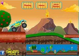 Image Smurf Monster Truck Challenge